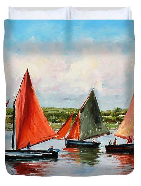 Galway Hookers Duvet Cover