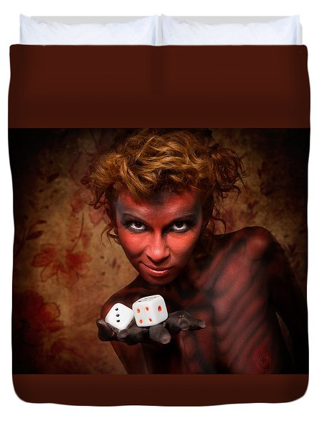 Game #2912 Duvet Cover