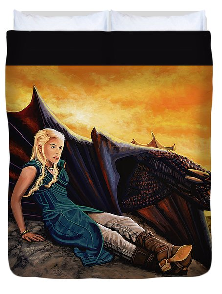 Game Of Thrones Painting Duvet Cover