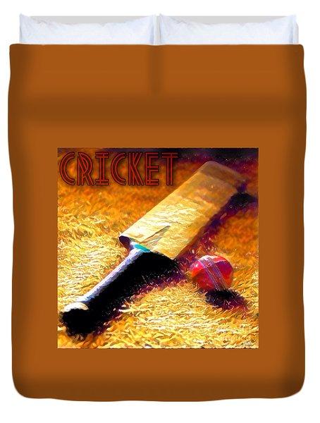 Game On Duvet Cover by Maria Watt