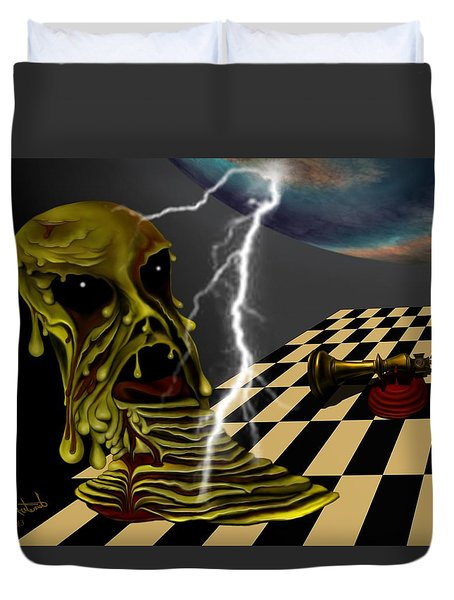 Game Over Duvet Cover