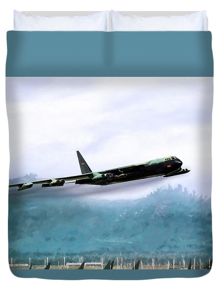 Game Time Duvet Cover by Peter Chilelli