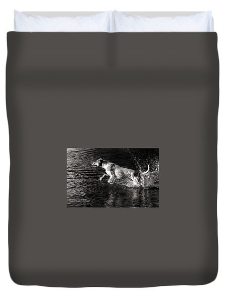 Games On The Water 2 Duvet Cover