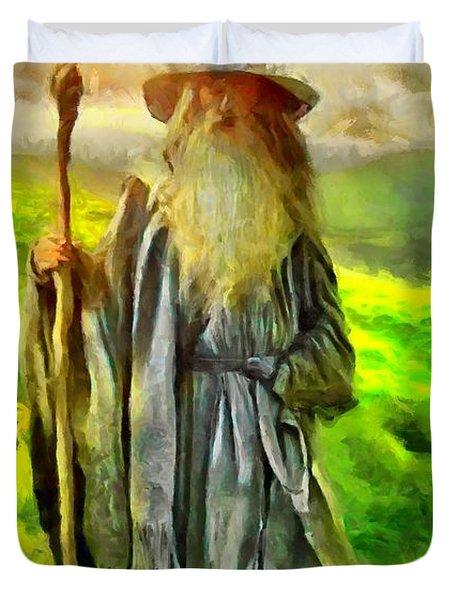 Gandalf, The  Grey Duvet Cover