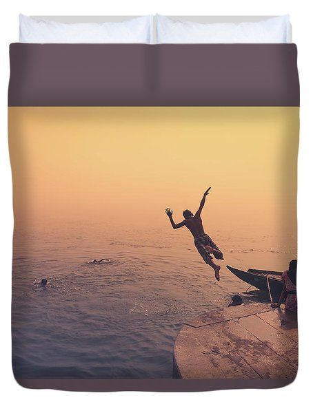 Ganges  Duvet Cover