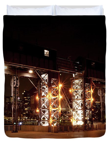 Gantry Nights Duvet Cover