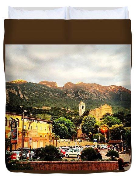 Garda Mountains Duvet Cover