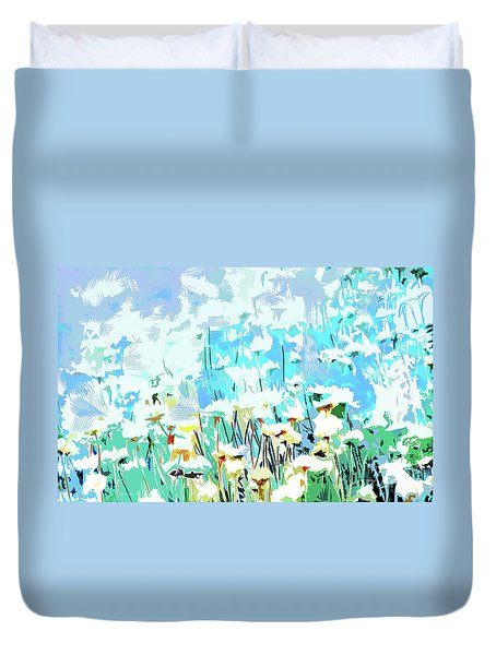 Duvet Cover featuring the photograph Garden by Alfonso Garcia