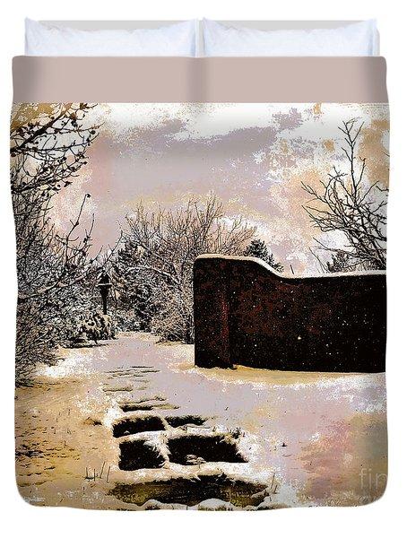 Garden Art Print  Duvet Cover