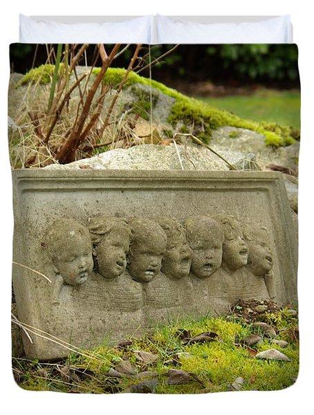 Garden Babies II Duvet Cover