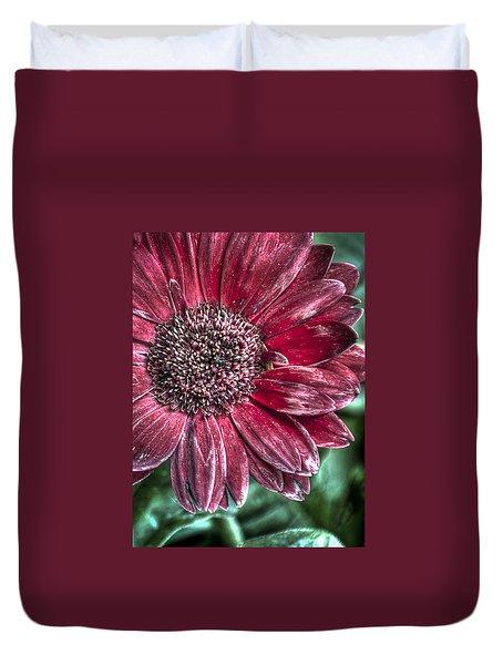 Duvet Cover featuring the photograph Garden Blossom by Deborah Klubertanz