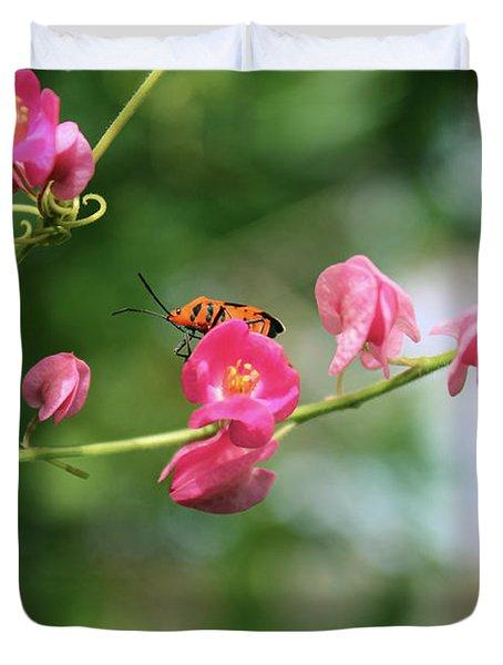 Garden Bug Duvet Cover