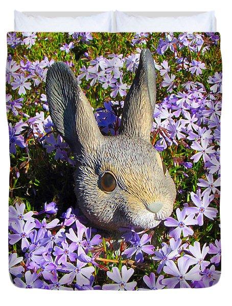Garden Bunny Duvet Cover