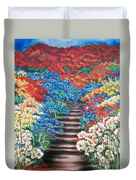 Garden Cascade Duvet Cover