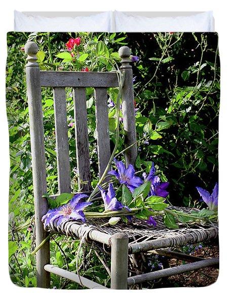 Garden Chair Duvet Cover
