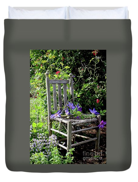 Garden Chair Duvet Cover