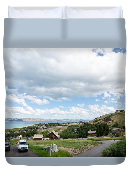 Garden City Utah Duvet Cover