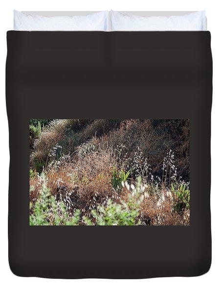 Garden Contre Jour Duvet Cover