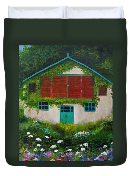 Garden Cottage Duvet Cover