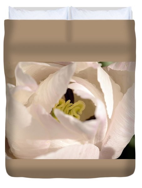 Garden Dance Duvet Cover by Wanda Brandon