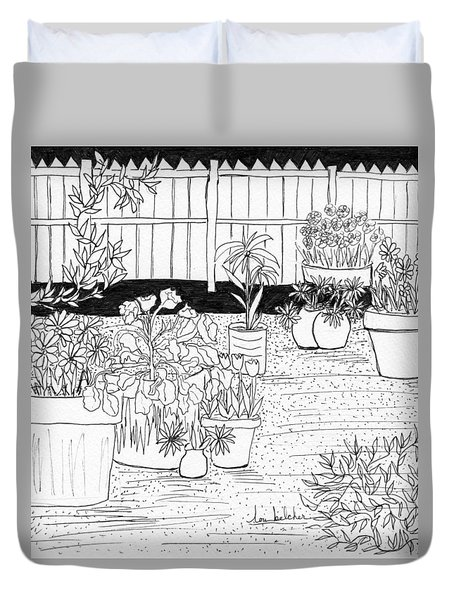 Garden Delight Duvet Cover