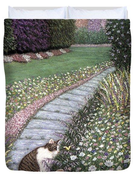 Garden Delights I Duvet Cover