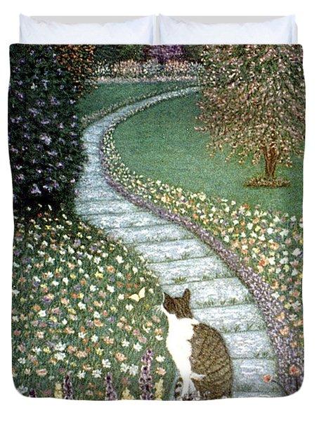 Garden Delights II Duvet Cover