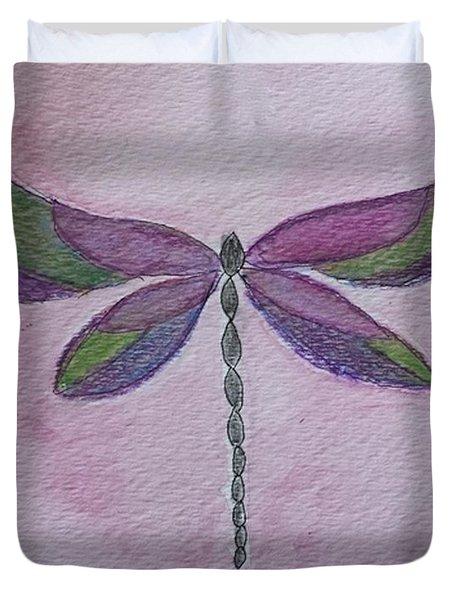 Garden Dragonfly Duvet Cover