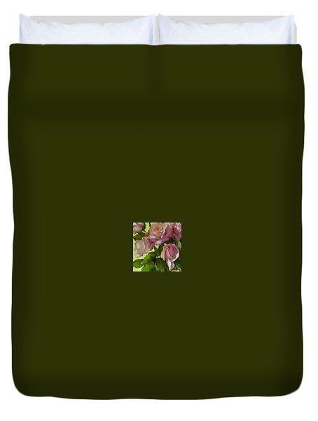 Garden Elegance Detail Image Duvet Cover