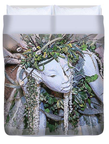 Garden Fairy Duvet Cover