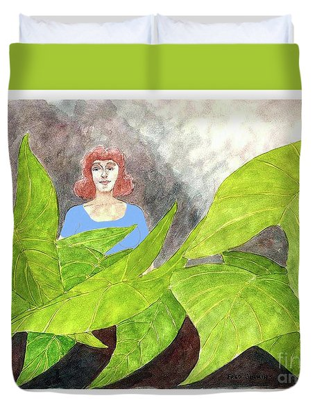 Garden Fantasy  Duvet Cover