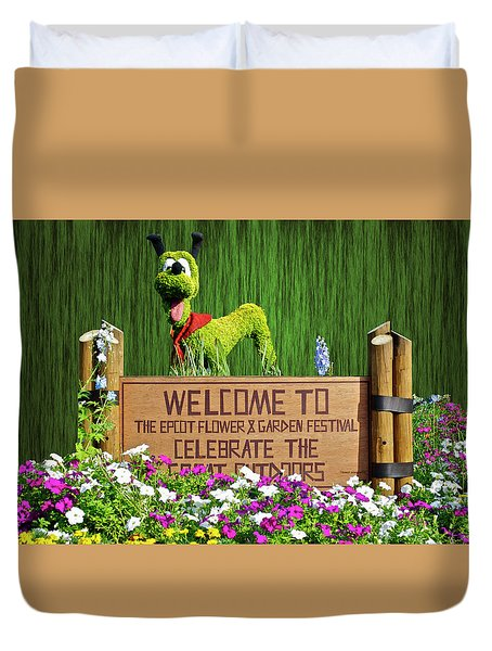 Garden Festival Mp Duvet Cover by Thomas Woolworth