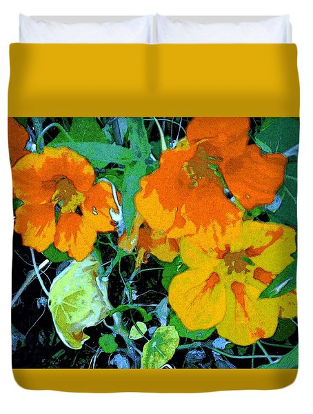 Garden Flavor Duvet Cover by Winsome Gunning
