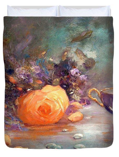 Garden Flowers Duvet Cover
