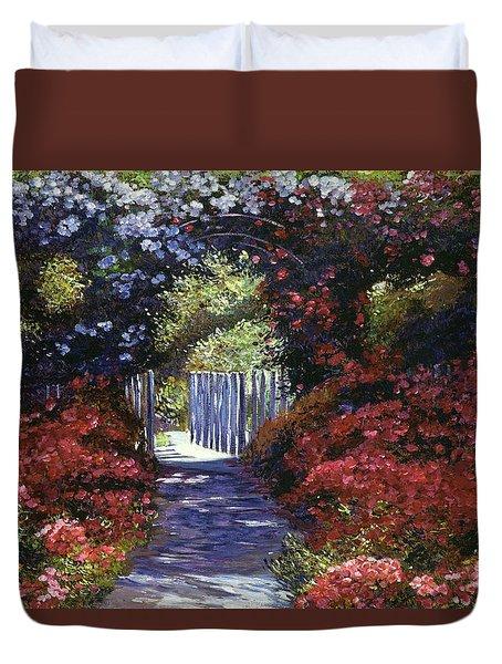 Garden For Dreamers Duvet Cover