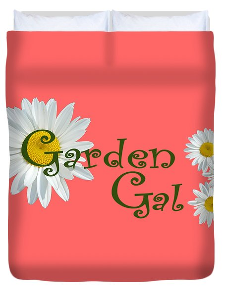 Garden Gal Duvet Cover
