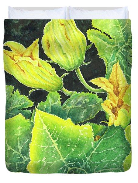 Garden Glow Duvet Cover
