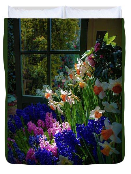 Garden House Delight Duvet Cover