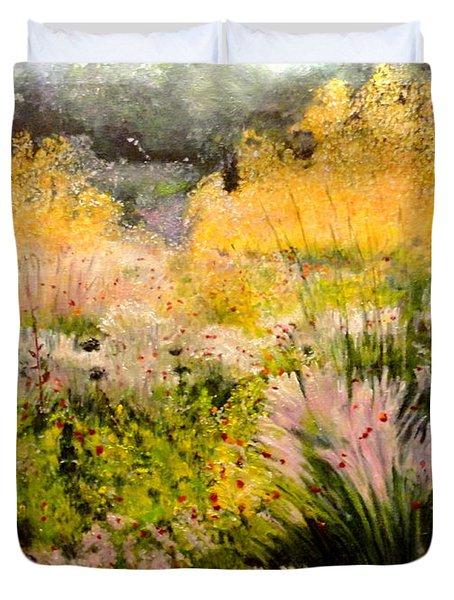 Garden In Northern Light Duvet Cover