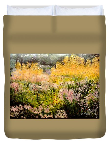 Garden In Northern Light Duvet Cover