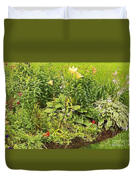 Garden Landscape No. B11 Duvet Cover