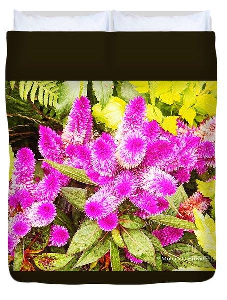 Garden Landscape No. B23 Duvet Cover