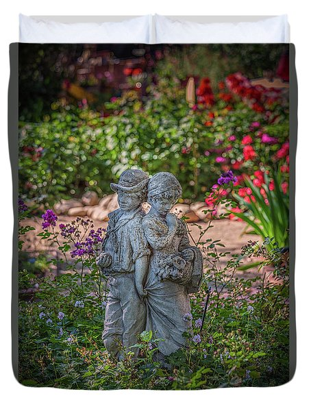 Garden Lovers Duvet Cover by David Cote