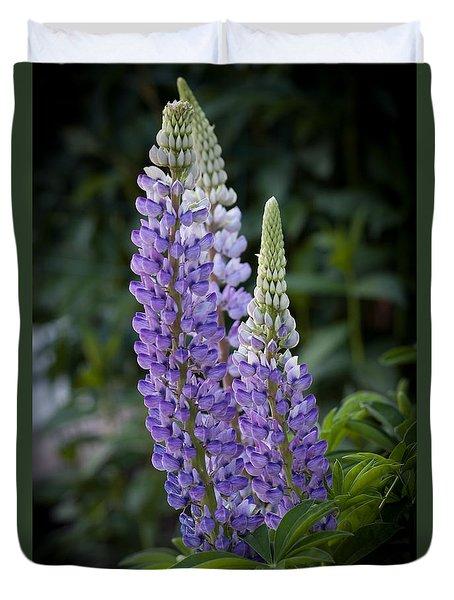 Garden Lupine Duvet Cover