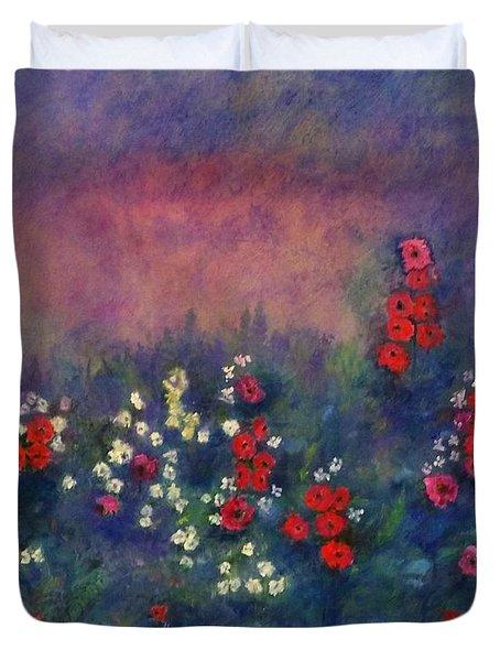 Garden Of Immortality Duvet Cover