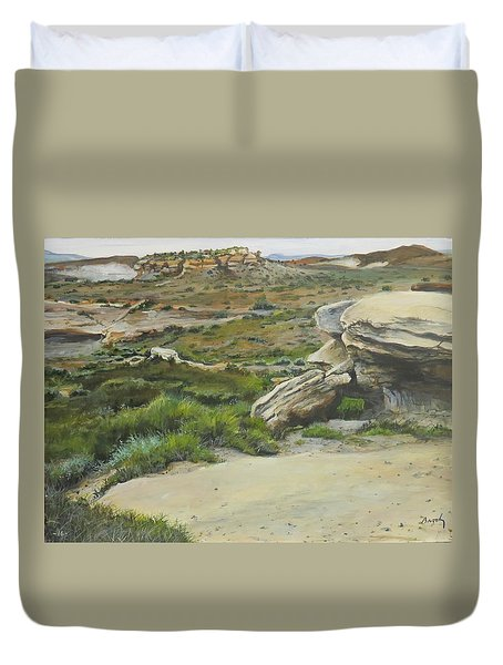 Garden Of Stone Duvet Cover
