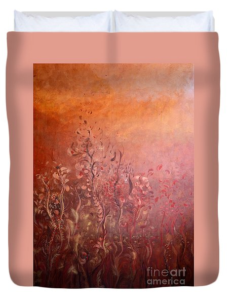 Garden Of The Sacred Fire Artbox Project 1 Basel Duvet Cover