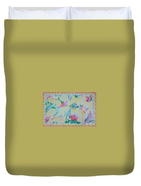 Garden Party Floorcloth Duvet Cover