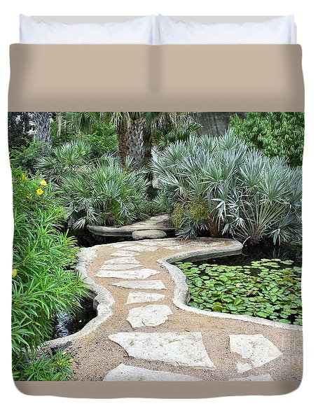Garden Path  Duvet Cover