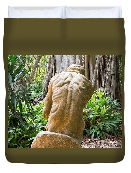 Garden Sculpture 1 Duvet Cover